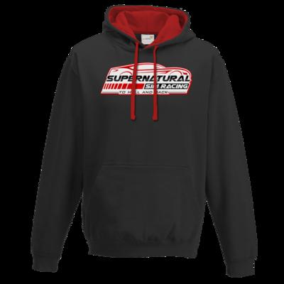 Motiv: Two-Tone Hoodie - Logo groß