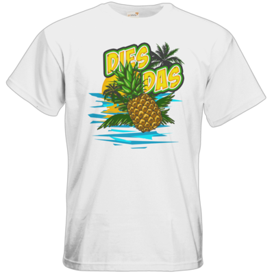 Motiv: T-Shirt Premium FAIR WEAR - DiesDasAnanas