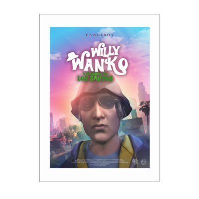 Motiv: Poster A1 - Willy Wanko