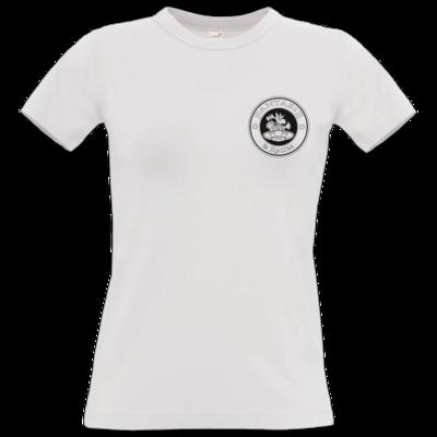 Motiv: T-Shirt Damen Premium FAIR WEAR - Logo schwarz weiss