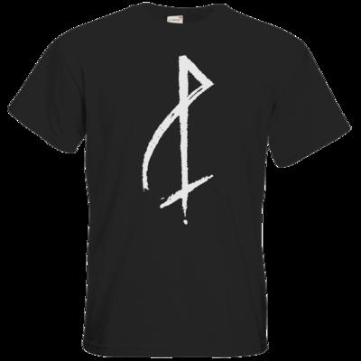 Motiv: T-Shirt Premium FAIR WEAR - P-Zeichen weiss