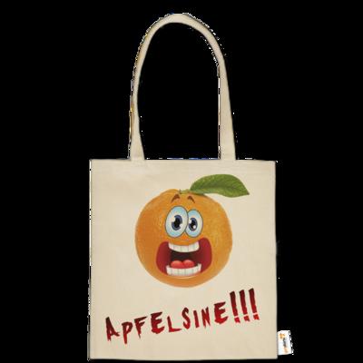 Motiv: Baumwolltasche - Apfelsine Shirt