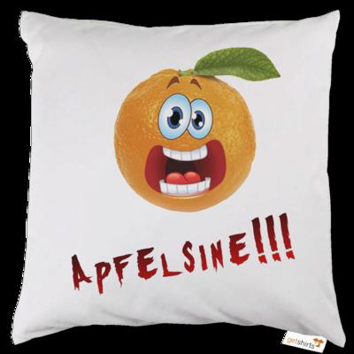 Motiv: Kissen - Apfelsine Shirt