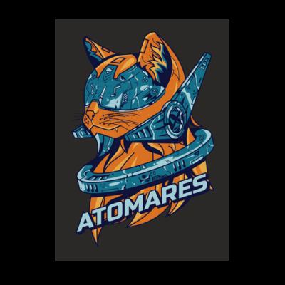 Motiv: Poster A1 - Retro Future Cat