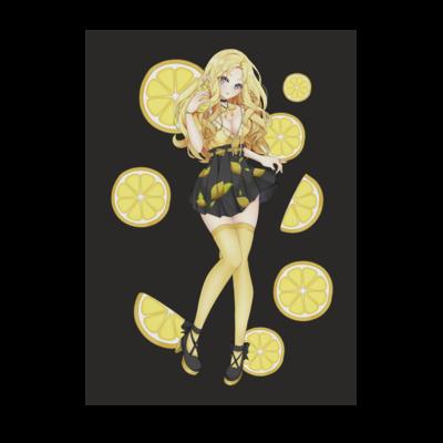 Motiv: Poster A1 - Team Zitronen Eistee