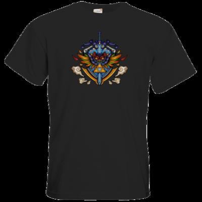Motiv: T-Shirt Premium FAIR WEAR - Hyrule_Color