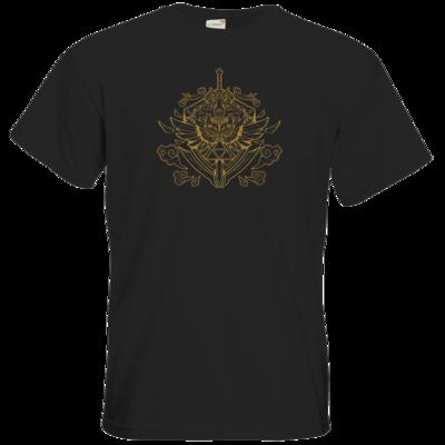 Motiv: T-Shirt Premium FAIR WEAR - Hyrule_Gold