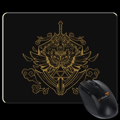 Motiv: Mousepad Textil - Hyrule_Gold