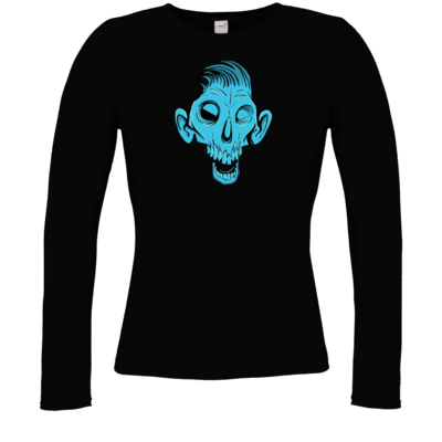 Motiv: Longsleeve Damen Organic - Toms Shirt - Zombie