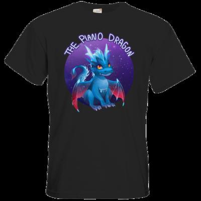 Motiv: T-Shirt Premium FAIR WEAR - BluePianoDragon