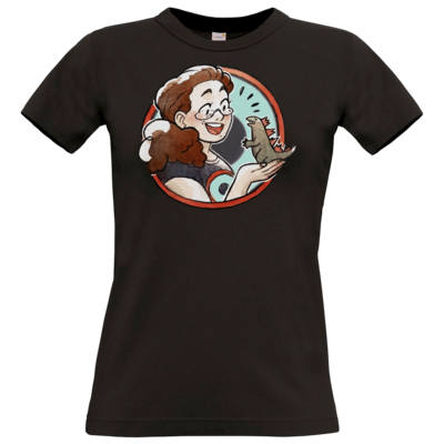 Motiv: T-Shirt Damen Premium FAIR WEAR - MoniZilla