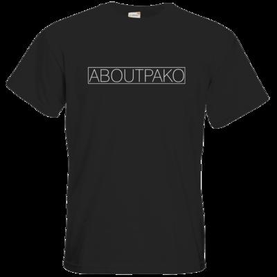 Motiv: T-Shirt Premium FAIR WEAR - AboutPako Schriftzug