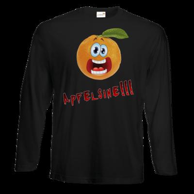 Motiv: Exact 190 Longsleeve FAIR WEAR - Apfelsine Shirt