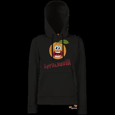 Motiv: Hoodie Damen Classic - Apfelsine Shirt
