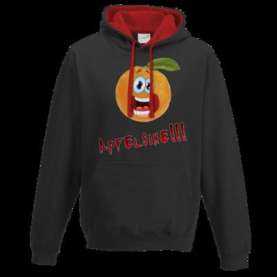 Motiv: Two-Tone Hoodie - Apfelsine Shirt