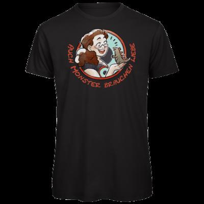 Motiv: Organic T-Shirt - Monster-Liebe-2