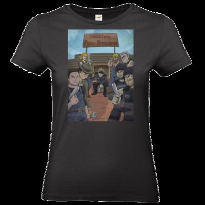 Motiv: T-Shirt Damen Premium FAIR WEAR - Rust RPD