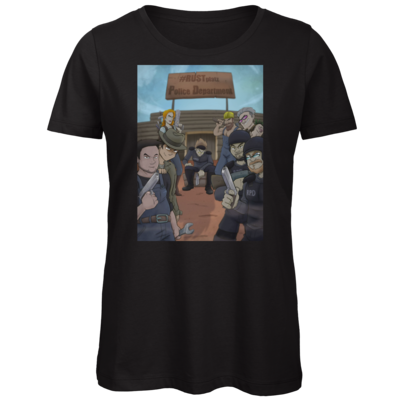Motiv: Organic Lady T-Shirt - Rust RPD