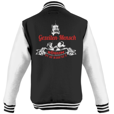 Motiv: College Jacke - Gezeitenmensch Büsum
