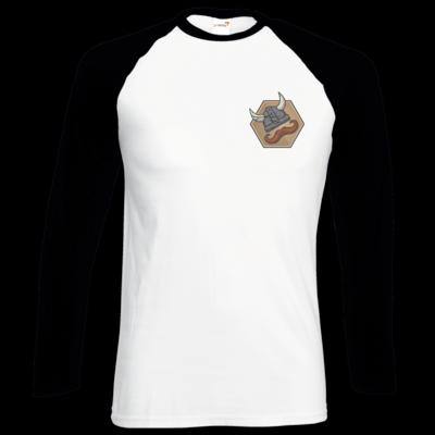 Motiv: Longsleeve Baseball T - Die Alriks Logo