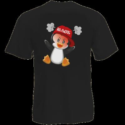 Motiv: T-Shirt Premium FAIR WEAR - Rage Pingu