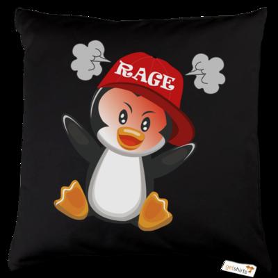 Motiv: Kissen Baumwolle - Rage Pingu