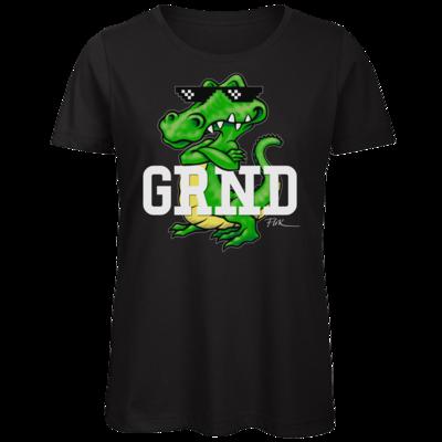 Motiv: Organic Lady T-Shirt - Kalle Kroko
