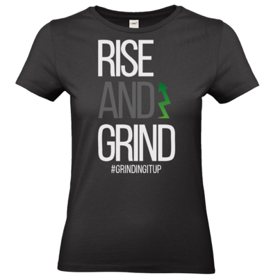 Motiv: T-Shirt Damen Premium FAIR WEAR - grindingitup - rise and grind