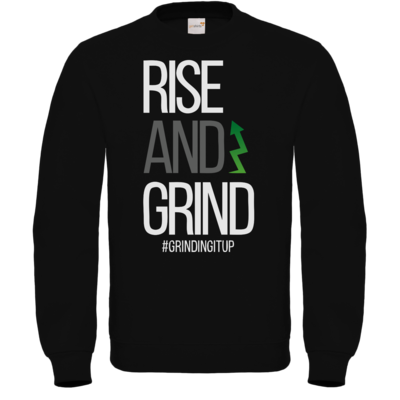 Motiv: Sweatshirt FAIR WEAR - grindingitup - rise and grind