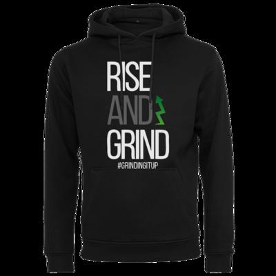 Motiv: Heavy Hoodie - grindingitup - rise and grind