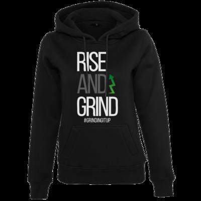 Motiv: Womens Heavy Hoody - grindingitup - rise and grind