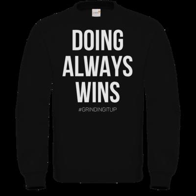 Motiv: Sweatshirt FAIR WEAR - grindingitup - doing always wins