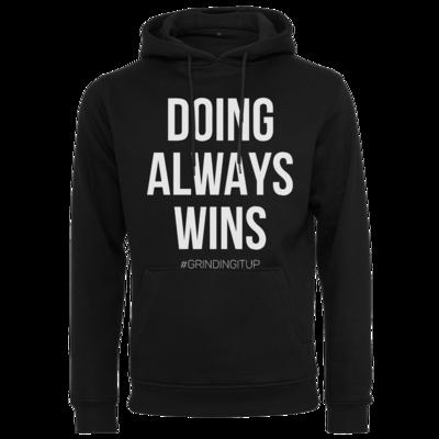Motiv: Heavy Hoodie - grindingitup - doing always wins