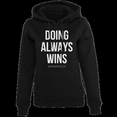 Motiv: Womens Heavy Hoody - grindingitup - doing always wins
