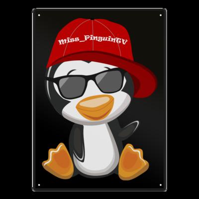 Motiv: Metallschild - Miss_PinguinTV