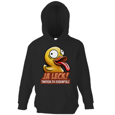 Motiv: Kids Hooded Sweat - Leckente