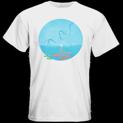 Motiv: T-Shirt Premium FAIR WEAR - Spirit Dragon