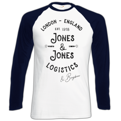 Motiv: Longsleeve Baseball T - Jones & Jones L&B