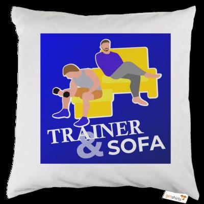 Motiv: Kissen - TrainerundSofa Logo