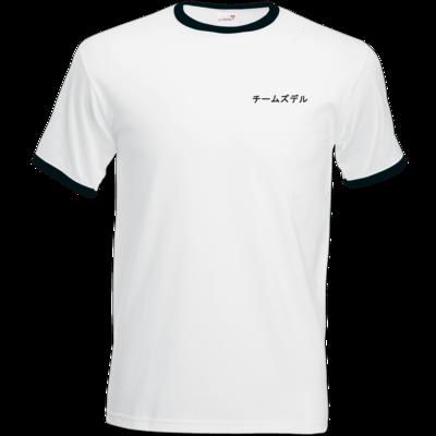 Motiv: T-Shirt Ringer - チームズデル - Team Zudle
