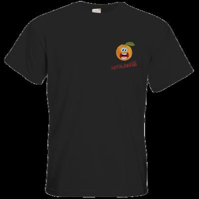 Motiv: T-Shirt Premium FAIR WEAR - Apfelsine (klein)