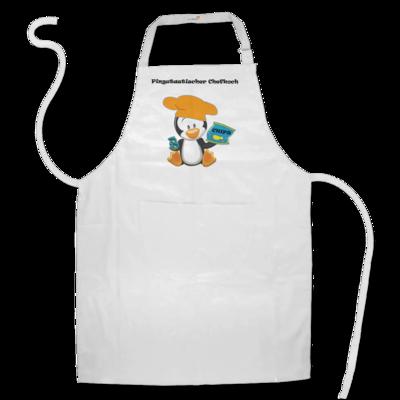 Motiv: Schürze - Chefkoch Pinguin