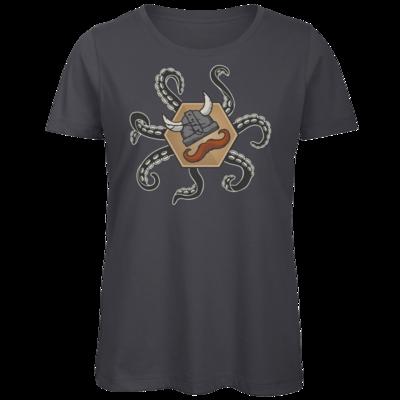 Motiv: Organic Lady T-Shirt - Logo & Tentakel