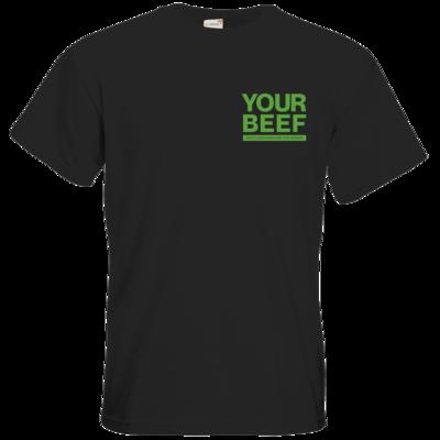 Motiv: T-Shirt Premium FAIR WEAR - Yourbeef Logo block