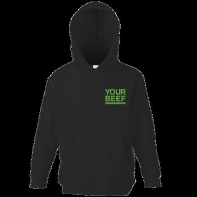 Motiv: Kids Hooded Sweat - Yourbeef Logo block