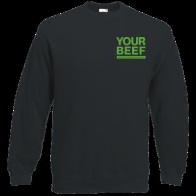 Motiv: Sweatshirt Classic - Yourbeef Logo block