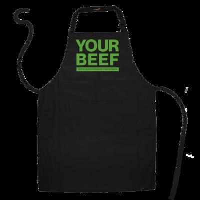 Motiv: Schürze - Yourbeef Logo block