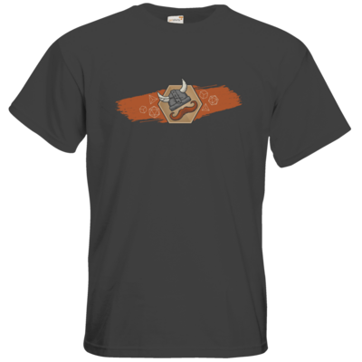 Motiv: T-Shirt Premium FAIR WEAR - Logo & Paint