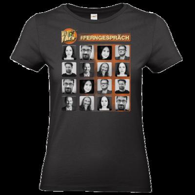 Motiv: T-Shirt Damen Premium FAIR WEAR - Ferngespraech
