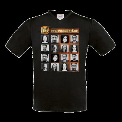 Motiv: T-Shirt V-Neck FAIR WEAR - Ferngespraech